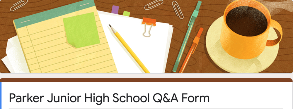 PJH Parent Q/A Form