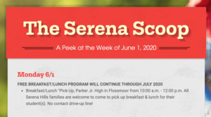 The Serena Scoop 6/1