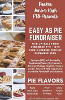 PTO Easy as Pie Fundraiser
