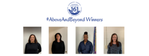 Above and Beyond January Winners