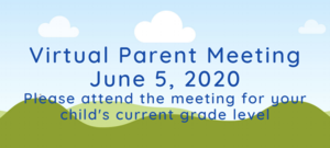 Virtual Summer Academy Parent Meeting