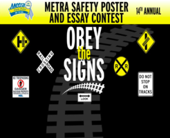 Metra Safety Poster and Essay Contest