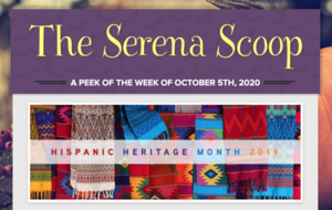 The Serena Scoop 10/5