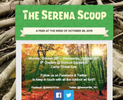 The Serena Scoop 10/28