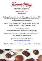 SH PTO Fannie May Fundraiser