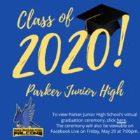 PJHS Virtual Graduation Ceremony