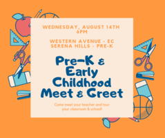 Early Childhood & Pre-K Meet & Greet