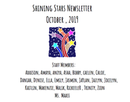 Shining Stars Newsletter - October Edition