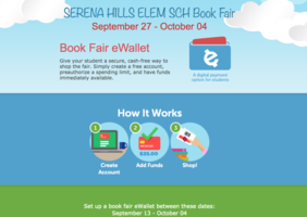 Scholastic Book Fair - eWallet