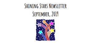 Shining Stars Newsletter - September 2019