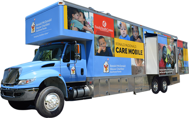 The Ronald McDonald Care Mobile