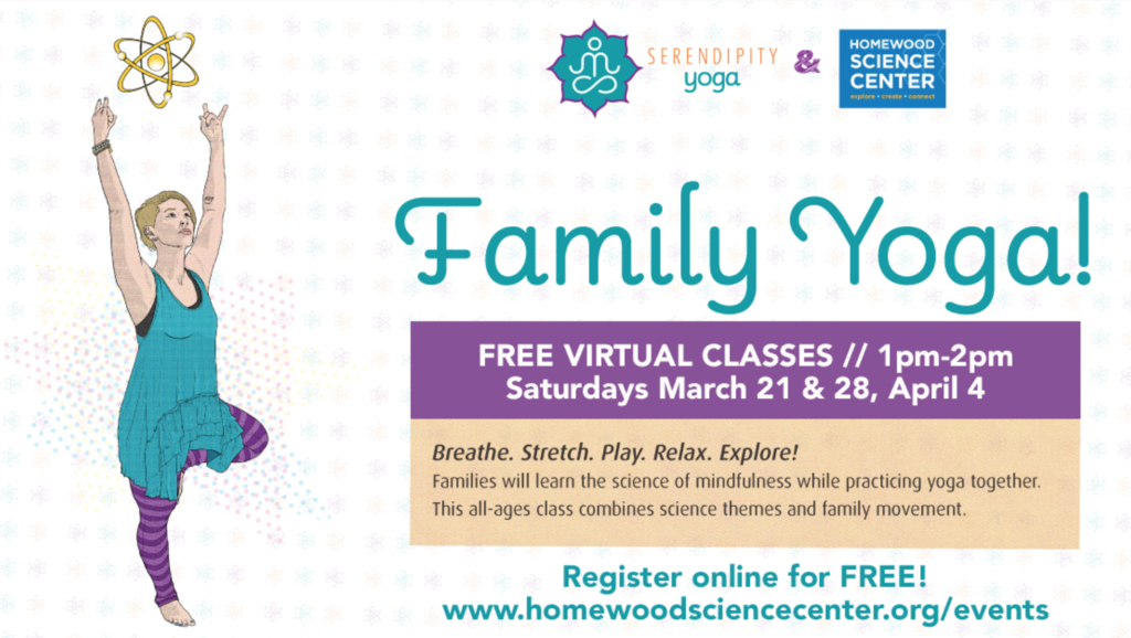 HSC Virtual Family Yoga Time